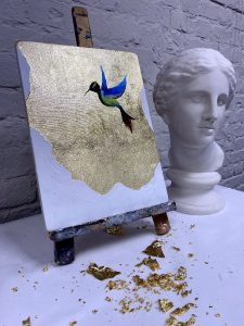Результат мастер-класса по интерьерной живописи