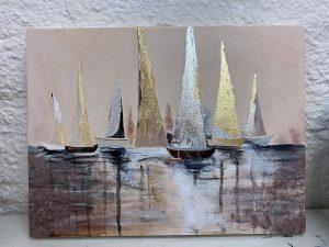 Рисунок кораблей