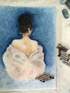 Картина, нарисованная на курсе 1