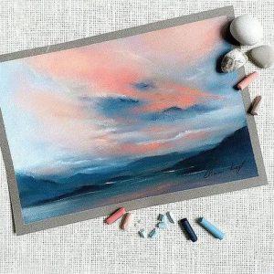 Картина пастелью 1