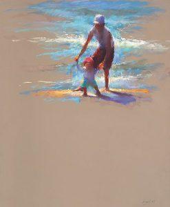 Картина пастелью 2