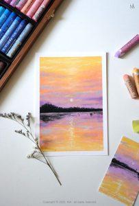 Картина пастелью 8