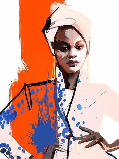 курс рисования одежды