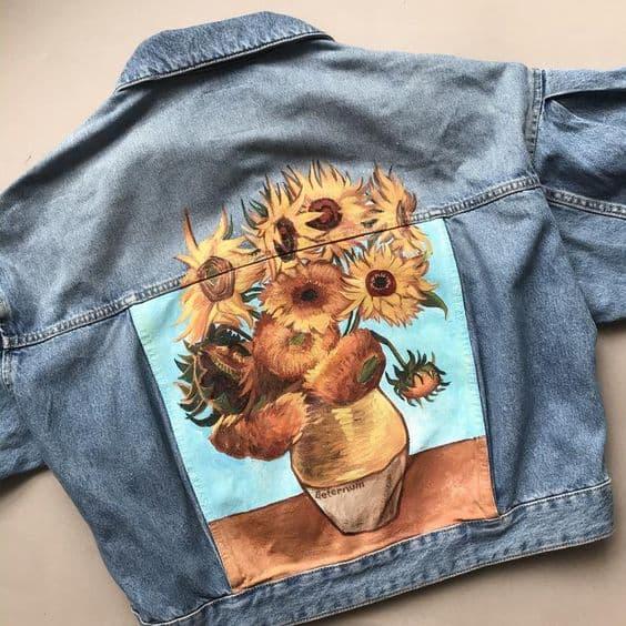 Мастер-класс по росписи одежды 9