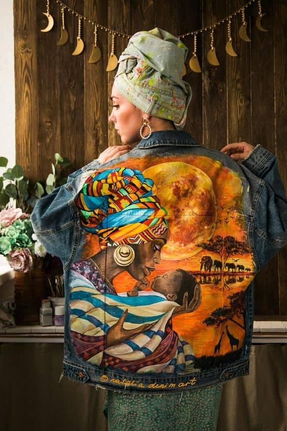 Мастер-класс по росписи одежды 8