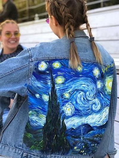 мастер-класс по росписи одежды