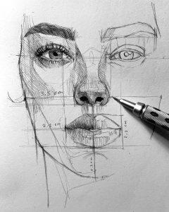 Курс рисования Основы портрета